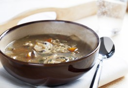 Super food for comfort: Winter barley soup