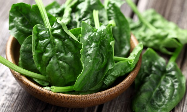 Improve Eyesight with spinach