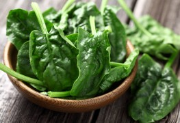 A nutritious way to make soup with leafy greens and herbs