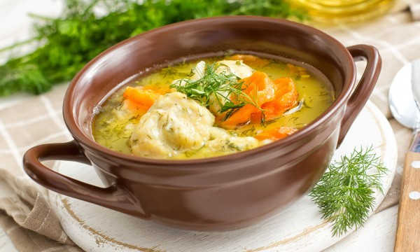how to make healthy chicken soup