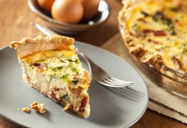 2 vegetable tart & quiche recipes that are sure to please