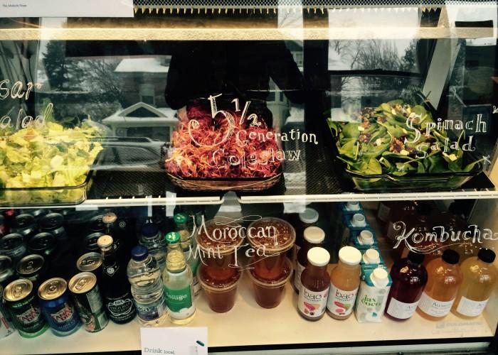 Abokichi - grilled sandwiches, vegan roti, soups, salads, fresh juice, onigiri, freshly pressed juice, cookies, treats