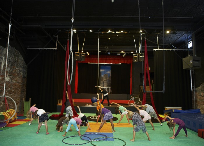 The Circus Academy - Circus classes and clubs, Vaudeville theatre, event location