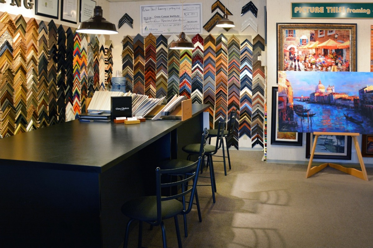 Picture This Framing & Gallery Sherwood Park Business Story