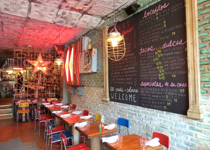 Barrio Coreano, Mexican cuisine, Korean cuisine, tacos, fusion cuisine, tapas, cocktails, beer