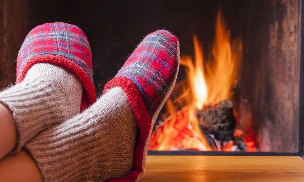 Simple hints for making your open fireplace more efficient