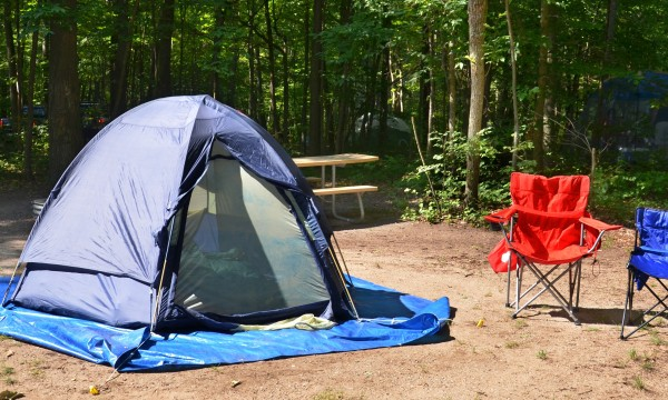 Household items to take camping