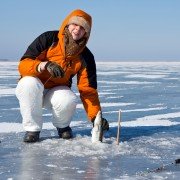 Where to find ice fishing equipment