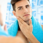 Facial skin care tips for men