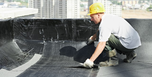 DIY advice: repairing a flat roof