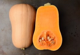 Super foods recipe:  butternut squash casserole with papaya