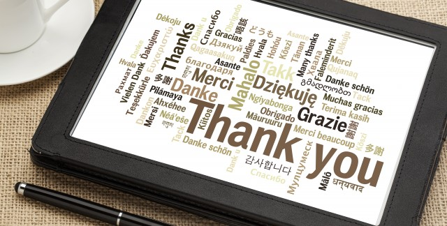 Advice for writing a sincere thank you letter