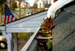 Easy fixes for a leaking gutter