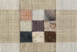 Two easy patchwork quilts for beginners