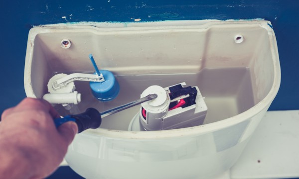 Easy fixes for a running toilet