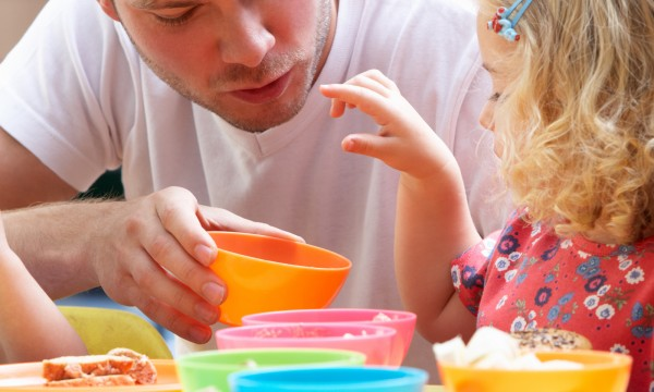 Make sure your child is eating well at daycare