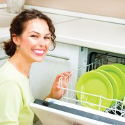 Eco-friendly dish washing: saving water and energy