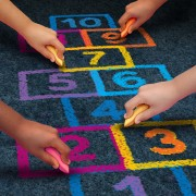 Kids' Games: How to Play Hopscotch and Blind Man's Buff