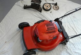 Easy fixes for gas mower starting issues