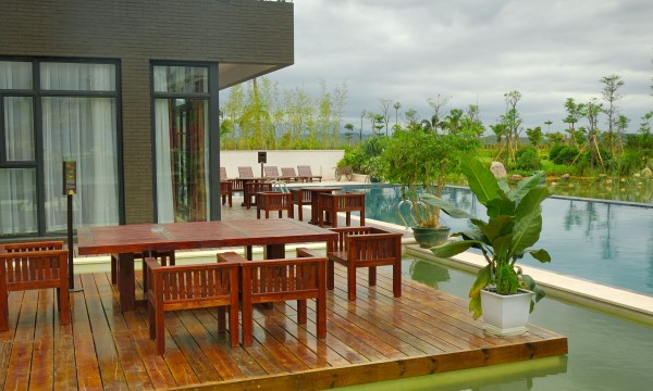 Clean patio furniture using products from your pantry