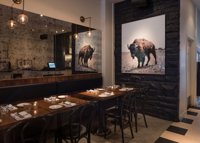 Central brasserie, Westmount, Montreal, Portuguese inspiration meets warm New-York decor