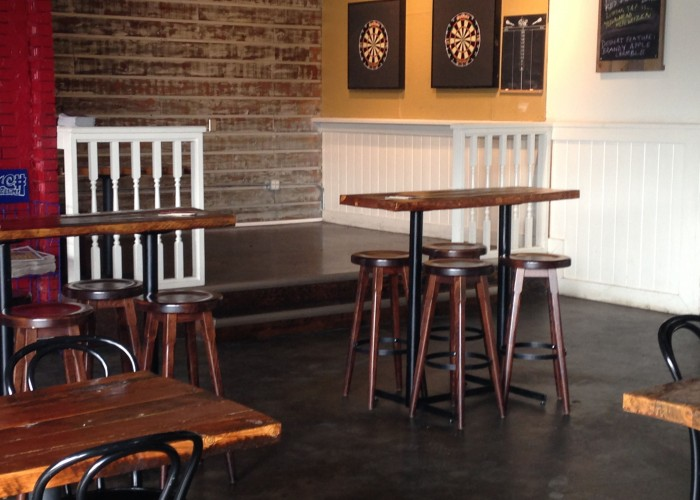 Daravara is a gastropub with great food, music, darts and more in a wide-open space