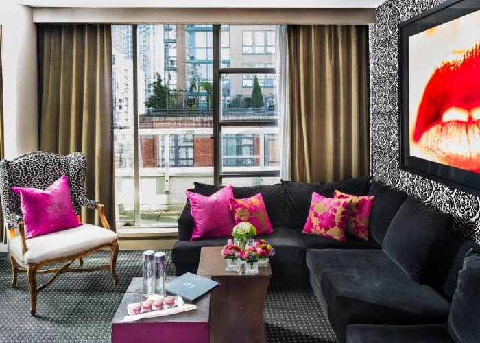 opus, boutique hotel, yaletown, hip, stylish, canada line, lobby bar, la pentola
