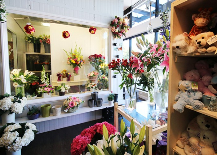 Adele-Rae Florist; floral arrangements; bouquets; plants; orchids; dish gardens; giftware; stuffed animals; cards