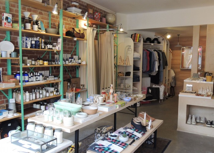 Easy Tiger Goods, Housewares, paper goods, leather goods, apothecary,