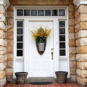 3 steps to a clean and welcoming front door