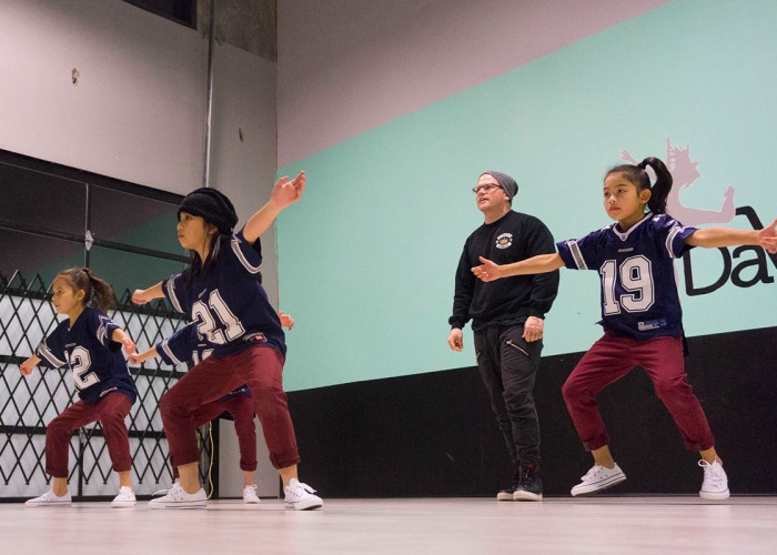 Instruction in street dance genres including, hip-hop, popping, waacking, locking and more.