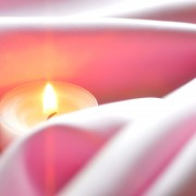 Create a little ambiance with candles
