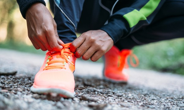 Benefits of running five minutes a day