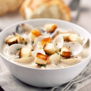 A delicious New England clam chowder you've got to try