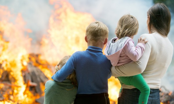 4 easy ways to prepare for household fires