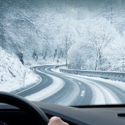 Advice for safer driving when roads are snowy and icy