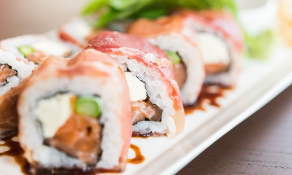 The health benefits of sushi