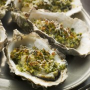 Decadent Oysters Rockefeller