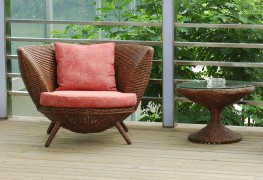 Easy tips to care for wicker patio furniture
