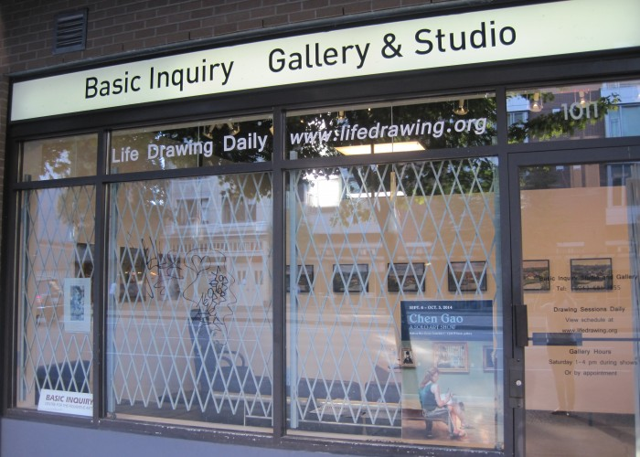 Basic Inquiry - Life drawing, painting, sketching