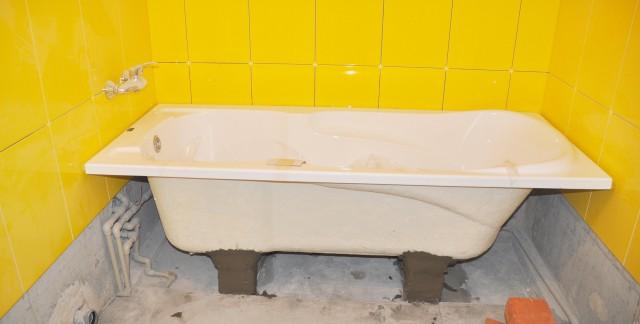 5 key steps to installing a bathtub