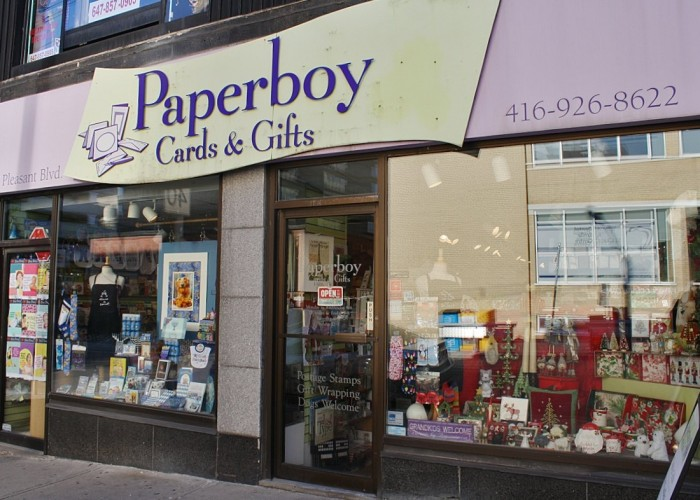 Paperboy Cards & Gifts - Cards, books, stationery, giftware, giftwrap
