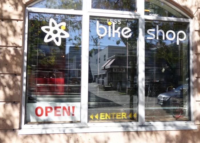 Atomic Bike Shop, Bicycle maintenance and repair, custom bike builds, custom bicycle wheel builds