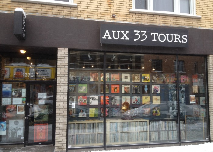 Aux 33 Tours - vinyls, second-hand vinyls, second-hand CDs, 12-inch records, 7-inch records, record brushes, amplifiers, speakers, turntables, second-hand turntables
