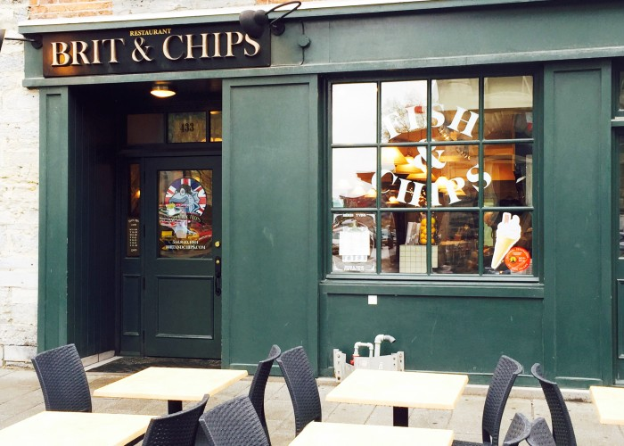 Brit & Chips - Lunch, dinner, fish & chips, seafood, drinks, meat pie