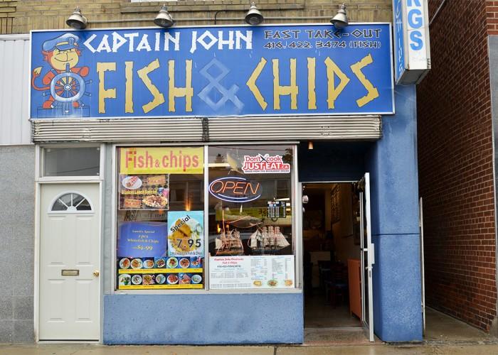 Captain john east york business story for Fish and chips restaurant near me