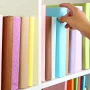 4 fun ways to organize your bookshelf