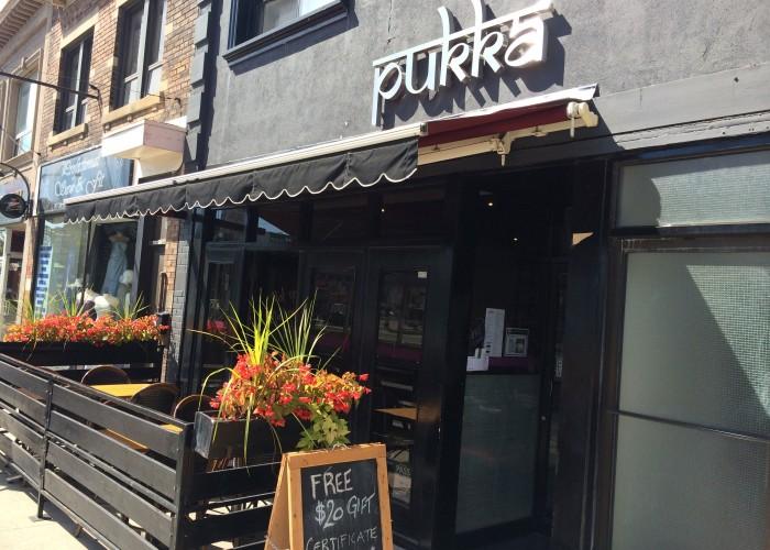 Pukka, Indian cuisine, appetizers, wine