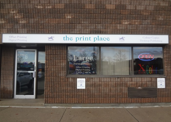 The Print Place, Full Colour Printing, High Speed Copying Digital Printing, Offset Printing, Graphic Design, Fax Service, Report Building, Rubber Stamps, Letterhead, Business Cards