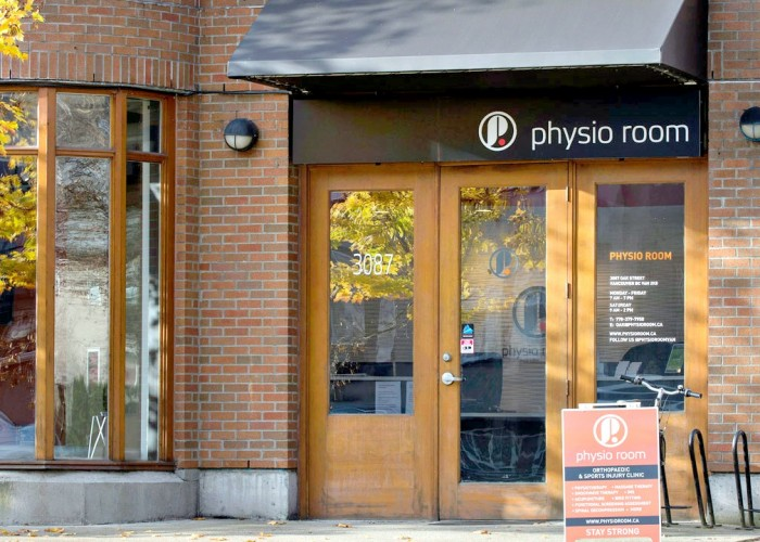 Located on the corner of Oak Street and 15th Avenue in Vancouver, Physio Room's second clinic opened in August 2015.